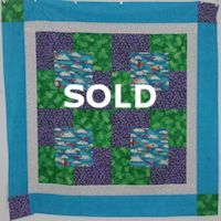 Airplanes Baby Quilt