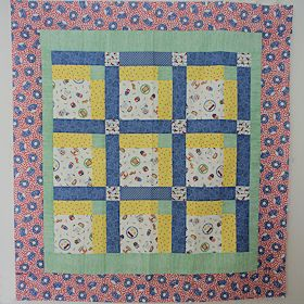 Breakfast Is Served Baby Quilt