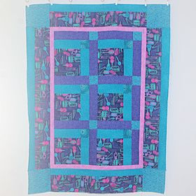 Listen to the Music Baby Quilt