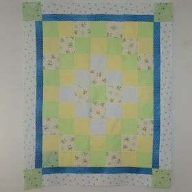 Man In The Moon Baby Quilt